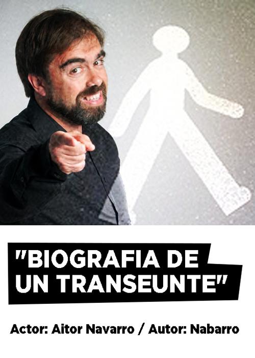 BIOGRAFÍA DE UN TRASEUNTE