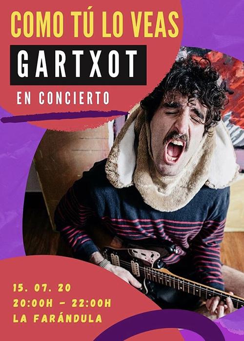 """""""GARTXOT"""" KONTZERTUA"""