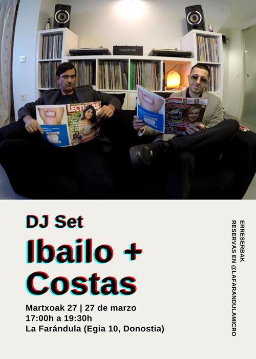 DJ Set Ibailo + Costas