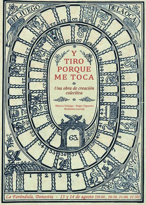 Y TIRO PORQUE ME TOCA (ESTREINALDIA)